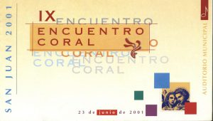 ECSJ 2001