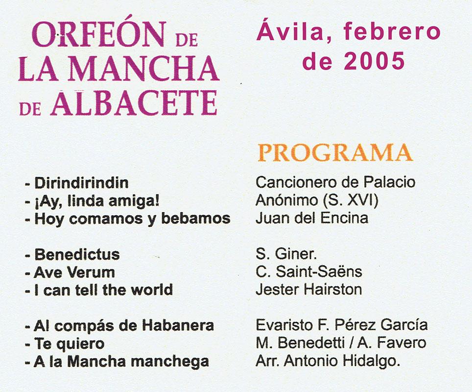 2005-FEB-Ávila
